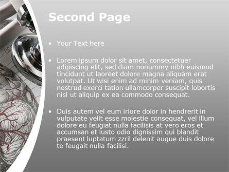 Human Anatomy PowerPoint Template, Slide 2, 09337, Medical — PoweredTemplate.com