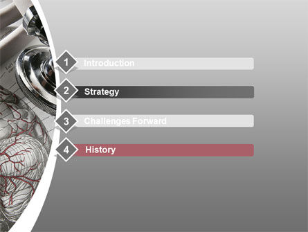 Human Anatomy PowerPoint Template, Slide 3, 09337, Medical — PoweredTemplate.com