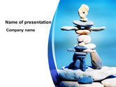 People: Modelo do PowerPoint - figuras de pedra #09338