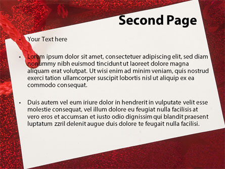 Tag PowerPoint Template, Slide 2, 09339, Holiday/Special Occasion — PoweredTemplate.com