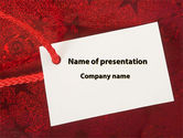 Holiday/Special Occasion: Tag PowerPoint Template #09339