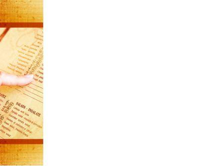 Menu Of Restaurant PowerPoint Template, Slide 3, 09340, Food & Beverage — PoweredTemplate.com
