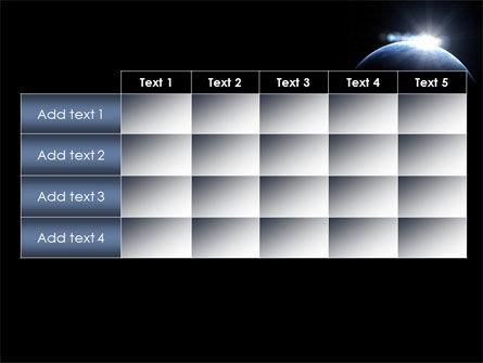 Deep Space Sunrise PowerPoint Template Slide 15