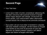 Deep Space Sunrise PowerPoint Template#2