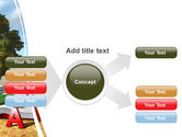 Green Tree of Knowledge PowerPoint Template#14