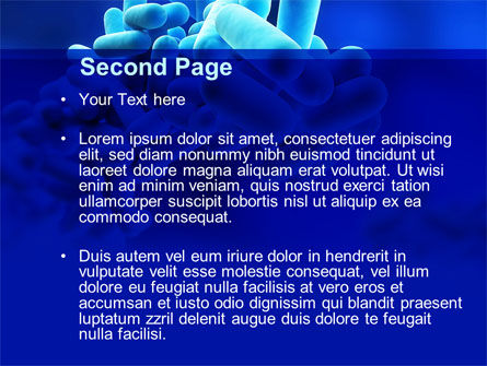 Legionella Pneumophila PowerPoint Template, Slide 2, 09344, Technology and Science — PoweredTemplate.com
