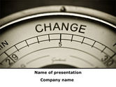 Consulting: Change PowerPoint Template #09345