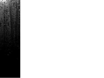 Drops On a Dark Glass PowerPoint Template, Slide 3, 09346, Religious/Spiritual — PoweredTemplate.com