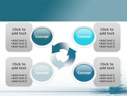 Glass Surfaces PowerPoint Template Slide 9
