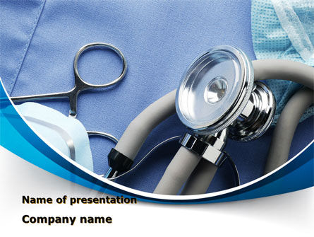 Medical Instruments PowerPoint Template, 09354, Medical — PoweredTemplate.com