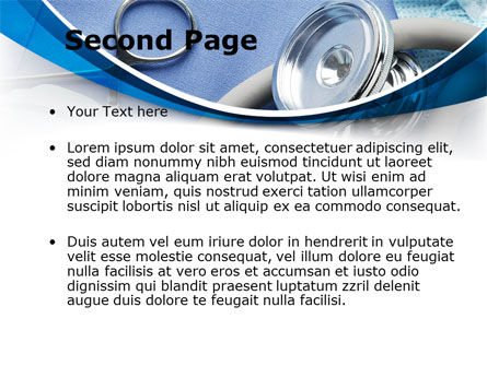 Medical Instruments PowerPoint Template, Slide 2, 09354, Medical — PoweredTemplate.com