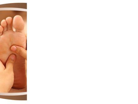 Feet Dotted Massage PowerPoint Template, Slide 3, 09356, Medical — PoweredTemplate.com