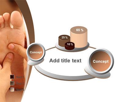 Feet Dotted Massage PowerPoint Template Slide 16