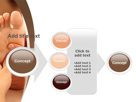 Feet Dotted Massage PowerPoint Template Slide 17