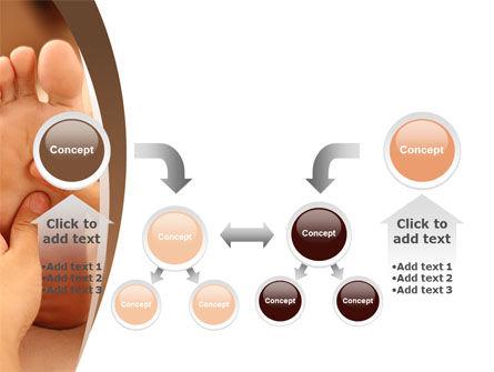 Feet Dotted Massage PowerPoint Template Slide 19