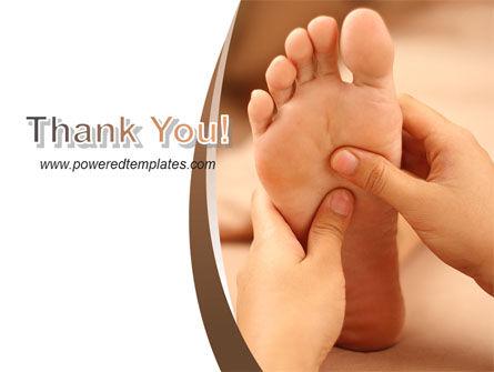 Feet Dotted Massage PowerPoint Template Slide 20
