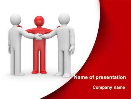 Reunion PowerPoint Template, 09357, Consulting — PoweredTemplate.com
