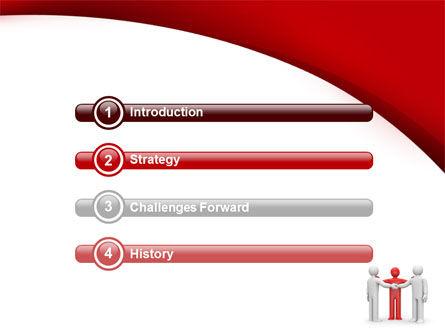 Reunion PowerPoint Template, Slide 3, 09357, Consulting — PoweredTemplate.com