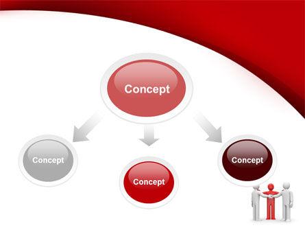 Reunion PowerPoint Template, Slide 4, 09357, Consulting — PoweredTemplate.com