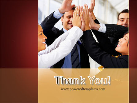 Take Five PowerPoint Template Slide 20