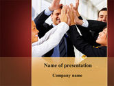 Consulting: Take Five PowerPoint Template #09358