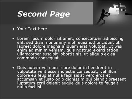 Last Piece Of Puzzle PowerPoint Template Slide 2