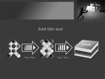 Last Piece Of Puzzle PowerPoint Template Slide 9