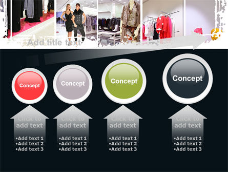Clothing Store PowerPoint Template Slide 13