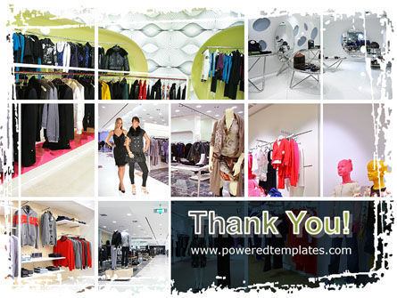 Clothing Store PowerPoint Template Slide 20