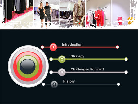 Clothing Store PowerPoint Template, Slide 3, 09363, Business — PoweredTemplate.com