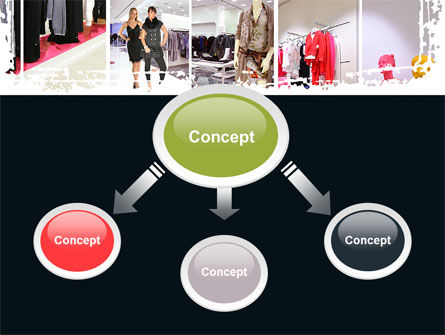Clothing Store PowerPoint Template, Slide 4, 09363, Business — PoweredTemplate.com