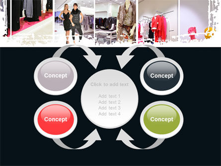 Clothing Store PowerPoint Template Slide 6