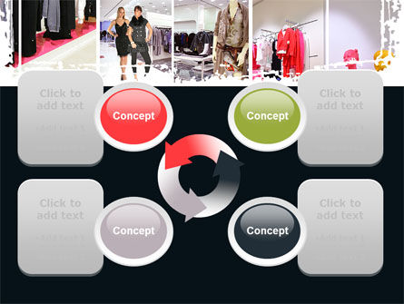 Clothing Store PowerPoint Template Slide 9