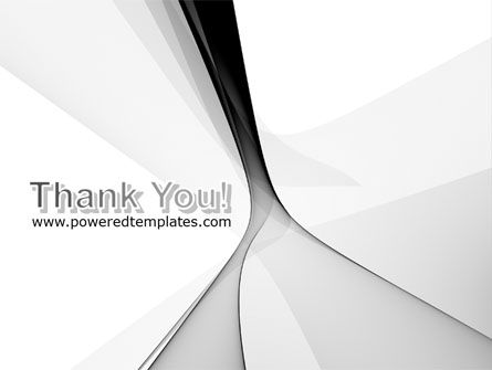 Gray Petals PowerPoint Template Slide 20