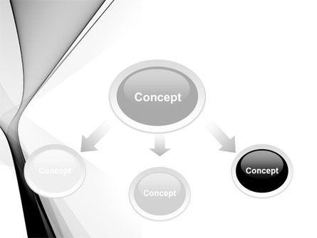 Gray Petals PowerPoint Template, Slide 4, 09364, Abstract/Textures — PoweredTemplate.com