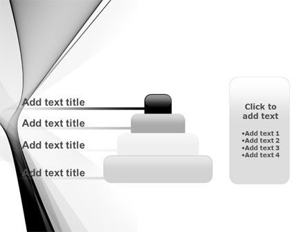 Gray Petals PowerPoint Template Slide 8