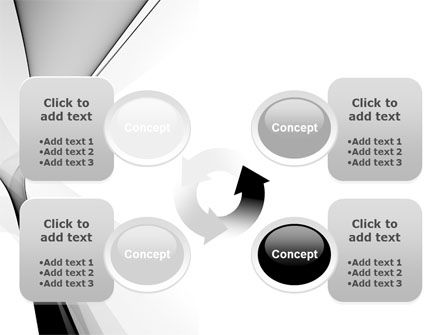 Gray Petals PowerPoint Template Slide 9