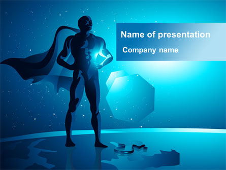 Super Human Creature PowerPoint Template