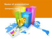 Construction: Global Civil Construction's Diagram PowerPoint Template #09367