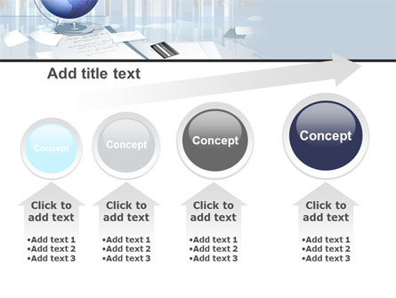 Globe PowerPoint Template Slide 13