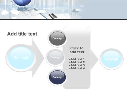 Globe PowerPoint Template Slide 17