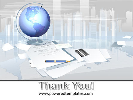 Globe PowerPoint Template Slide 20