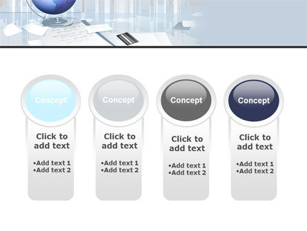 Globe PowerPoint Template Slide 5