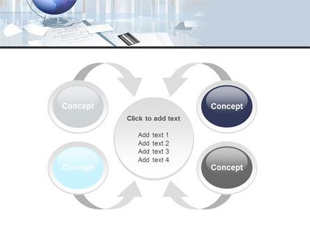 Globe PowerPoint Template Slide 6