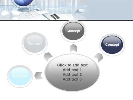 Globe PowerPoint Template Slide 7