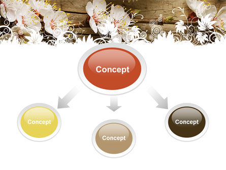 Spring Blossom Apple Tree PowerPoint Template, Slide 4, 09369, Nature & Environment — PoweredTemplate.com