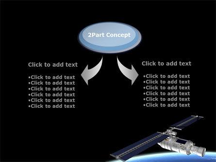 Spaceship In Deep Space PowerPoint Template Slide 4