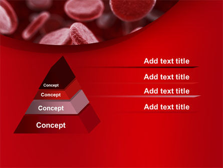 Red Blood Cells Stream PowerPoint Template Slide 12