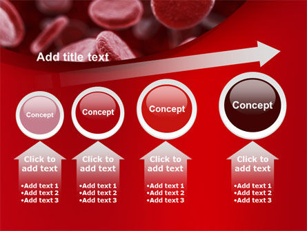 Red Blood Cells Stream PowerPoint Template Slide 13