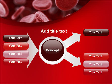 Red Blood Cells Stream PowerPoint Template Slide 14